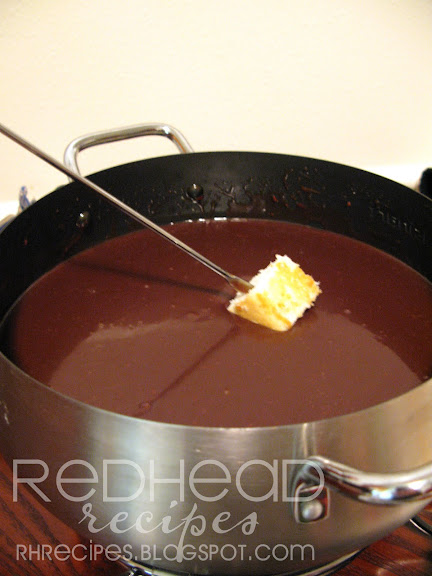 Chocolate Fondue Recipe — Dishmaps