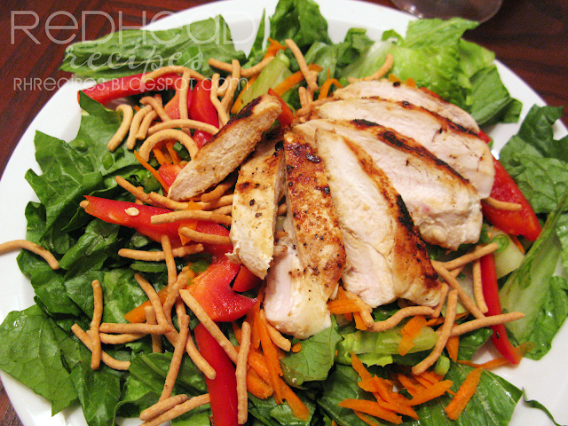 Redhead Recipes: Asian Chicken Salad