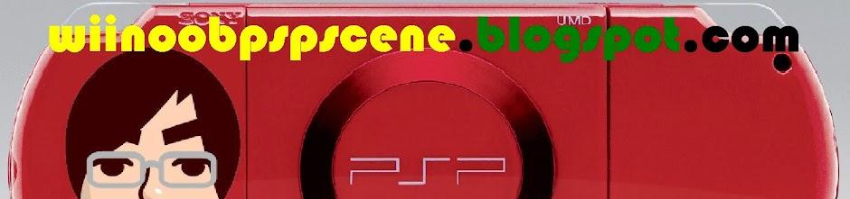 Wii NOOB PSP SCENE