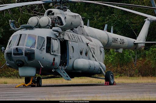 El Helicoptero Mil Mi-17 en México - Página 3 FEBE+Mexicana+Marina+Mi-8MTV-1+Hip+AMHT-219+Chetumal+2