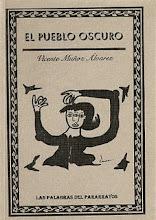 """cover """"el pueblo oscuro"""" v. muñoz álvarez"""