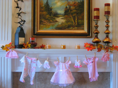 Google image result for for Baby clothesline decoration