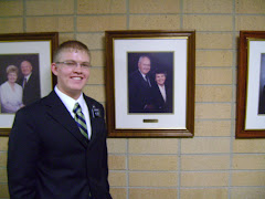 Elder Grant with Gpa & Gma MTC Presidents Grant