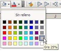 bordes en Excel efectos especiales