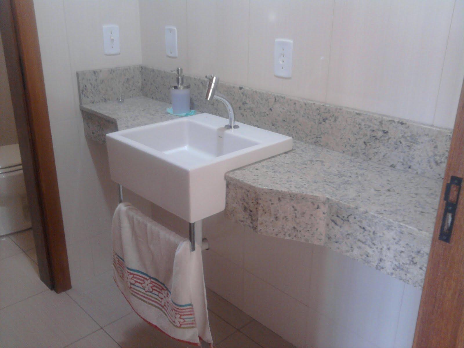 Pia de Banheiro em Granito Icarai #43312C 1600x1200 Bancada Banheiro Rj