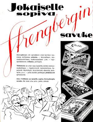 Strengberg-savukkeet