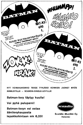 Batman-single Suuri kultalevyryöstö