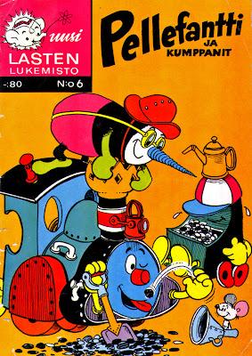 Pellefantti-sarjakuvalehti