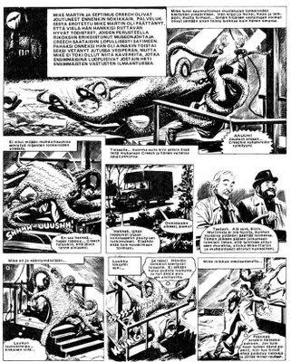 The Waxer, Mike Martin seikkailee