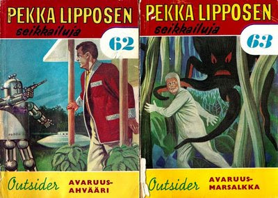 Pekka Lipponen: Avaruusahvääri ja Avaruusmarsalkka