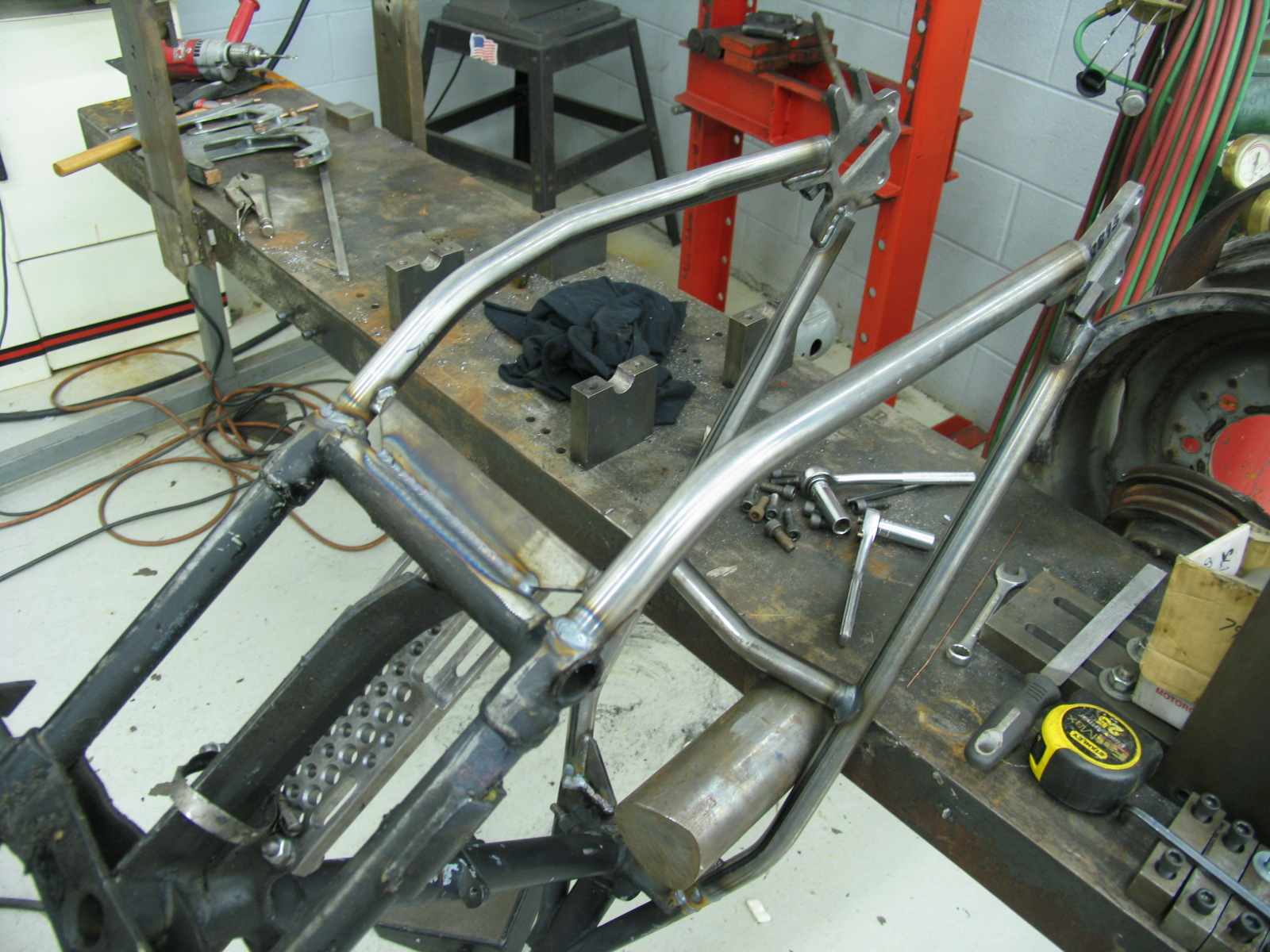 Rigid Frame Building : Gangster choppers rigid frame construction from
