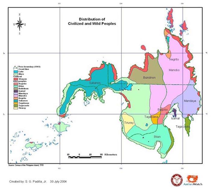 Ethnographic Map 1918