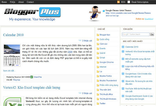 Share Template của BloggerPlus - Chia sẻ BloggerPlus template BloggerPlus