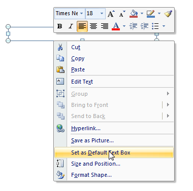 how to change the default font for footnotes in word
