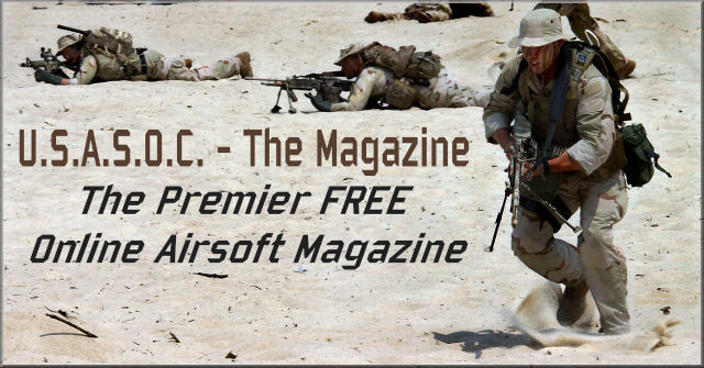 U.S.A.S.O.C. - The Only FREE Airsoft Magazine
