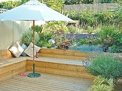 Dream of a home terrace gardening part ii aesthetics for Terrace seating ideas