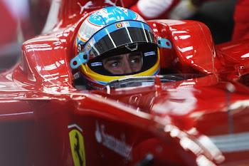 Alonso en ferrari