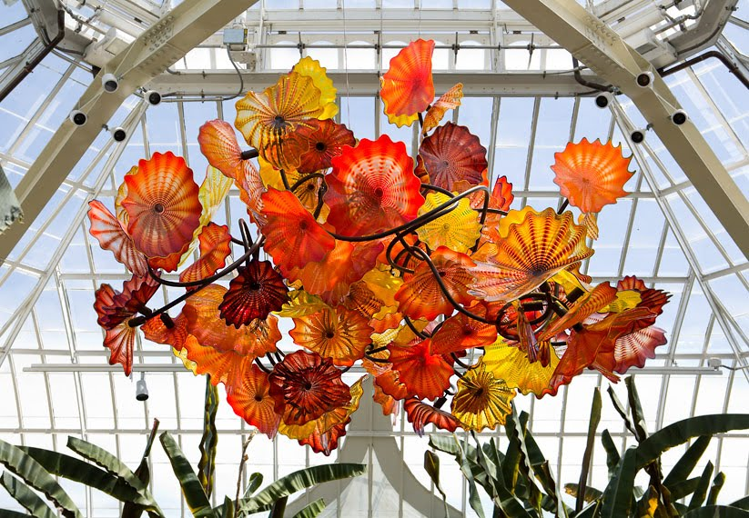 ORANGE GLASS CHANDELIER – Fruit Chandelier