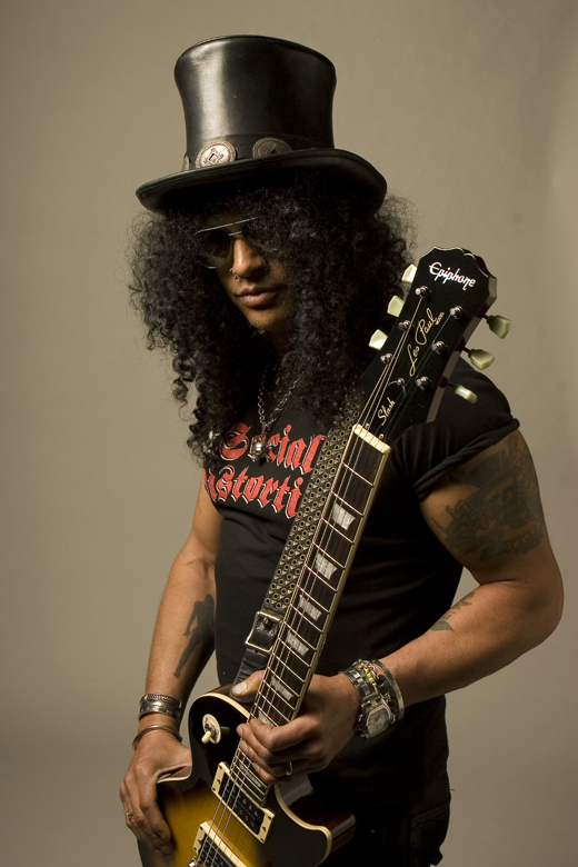 Slash, el rockero de Disney
