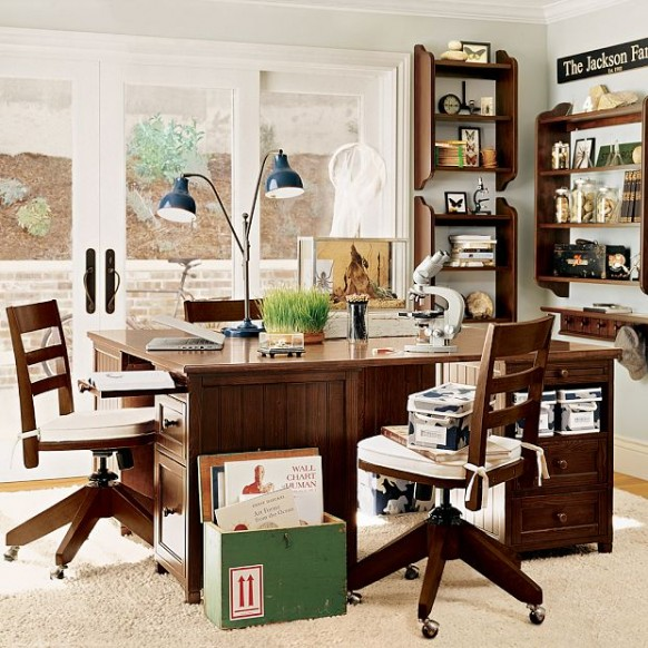Home design interior kids study room design Home study furniture design