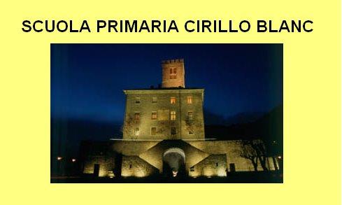 SCUOLA PRIMARIA CIRILLO BLANC