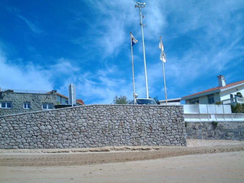 Acceso a la Playa de La Magdalena
