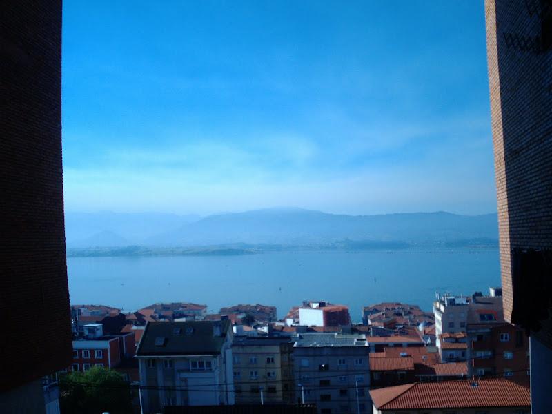 Patio con vistas a la Bahía de Santander