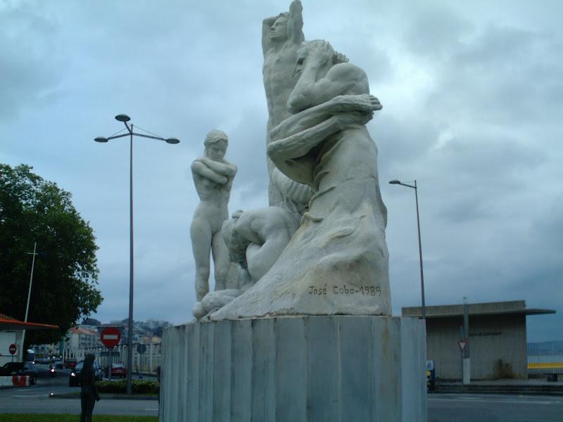 Monumento al incendio y reconstrucción de Santander