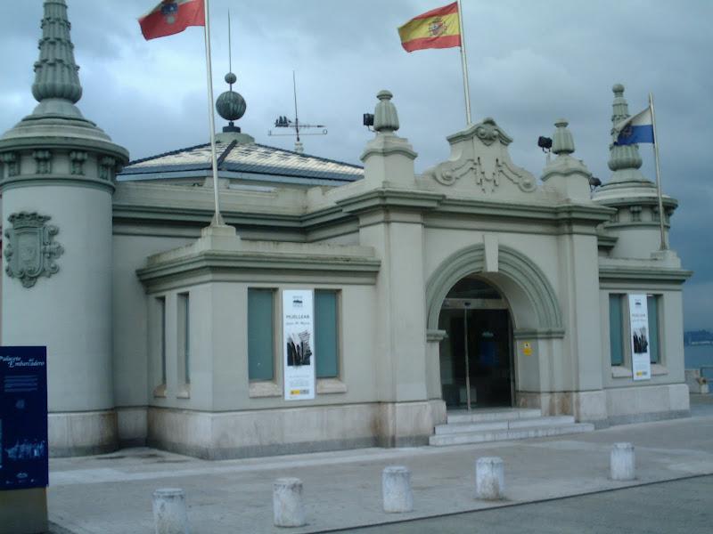 Entrada Palacete del Embarcadero