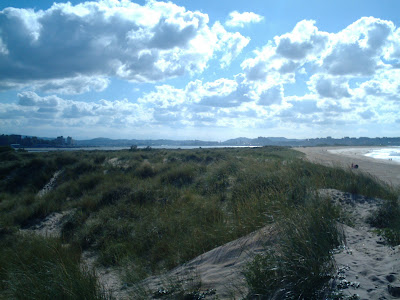 dunas de Somo y el Puntal