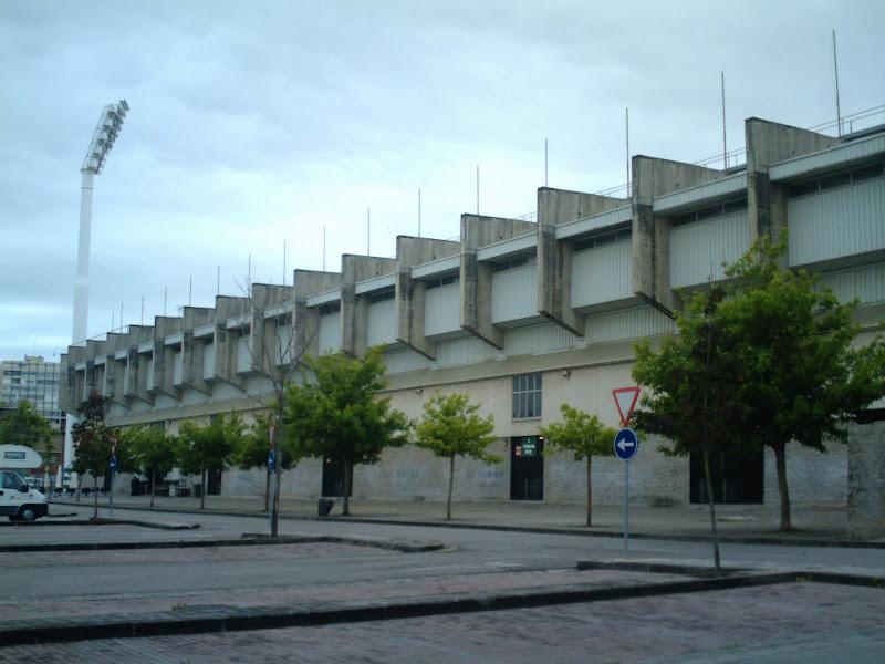 gradas del nuevo Estadio de los Campos de Sport de El Sardinero