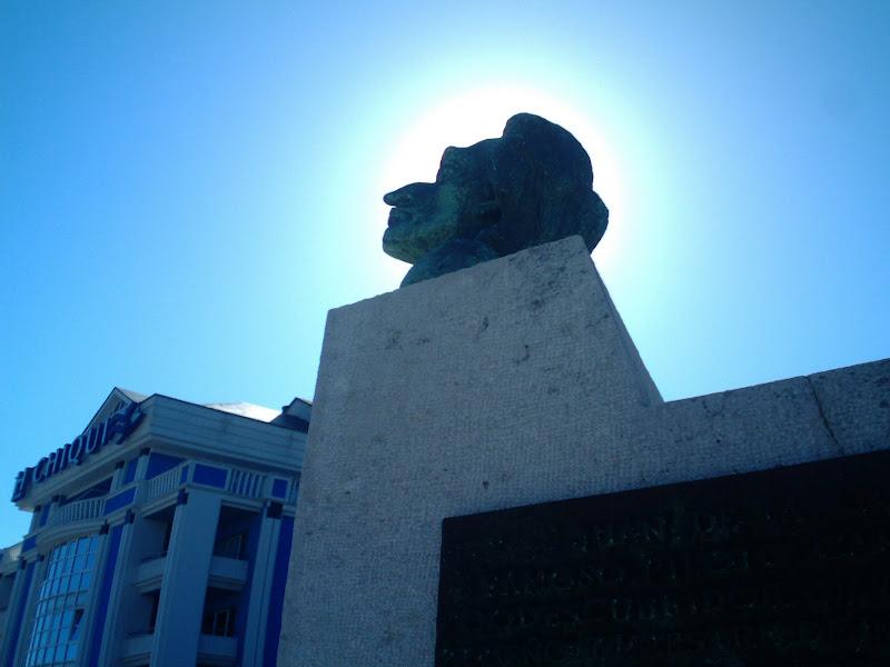 busto de Juan de la Cosa en Santander