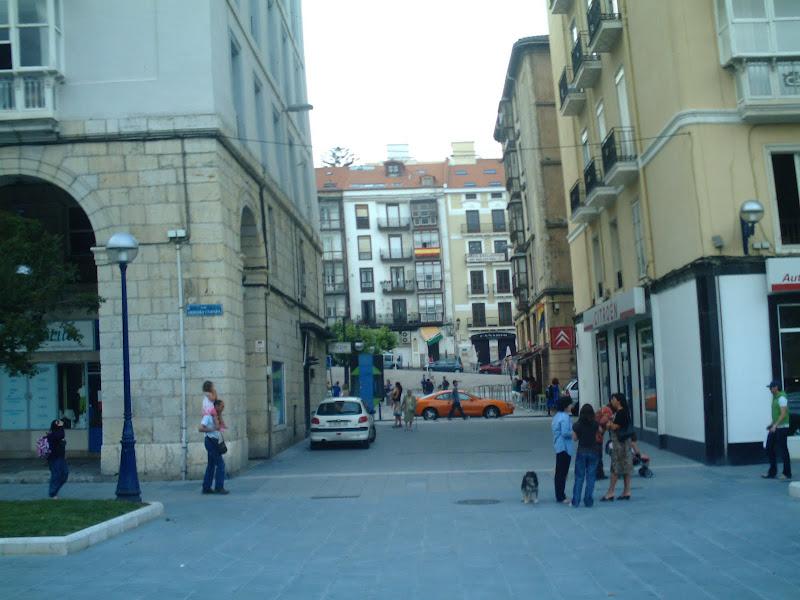 Plaza de Pombo en Santander