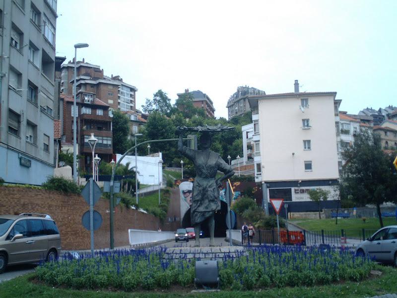 Monumento La Sardinera en Santander
