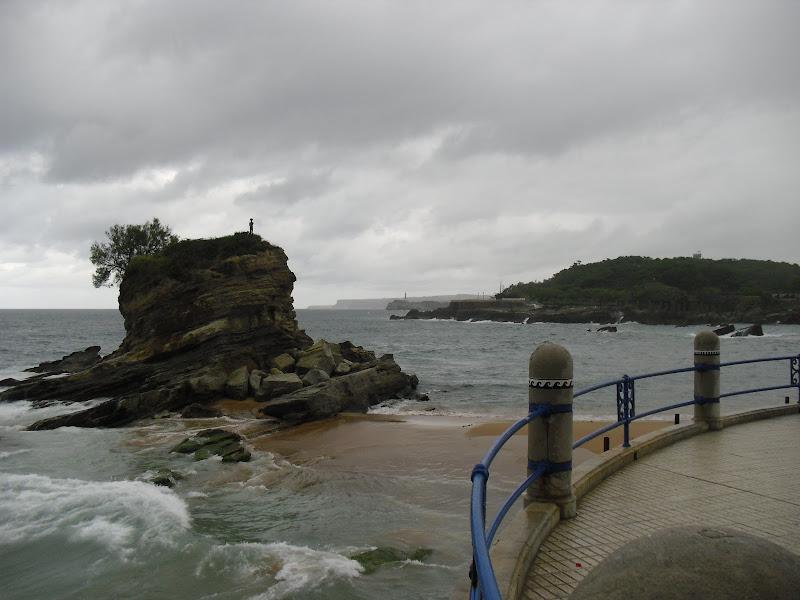 Peña Vieja en Playa del Camello en Santander