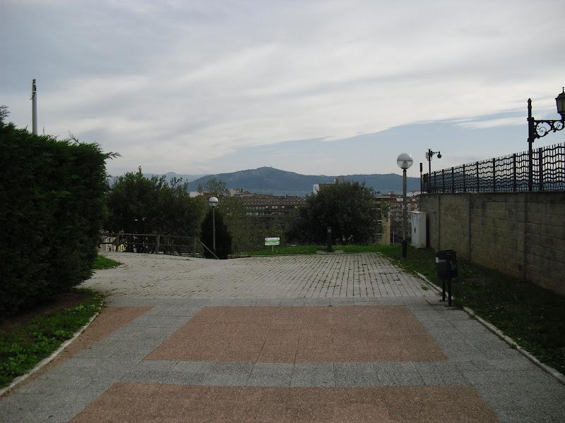 Entrada del Parque Sotileza en Santander