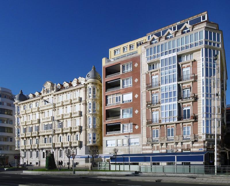 Calle Castelar en Santander