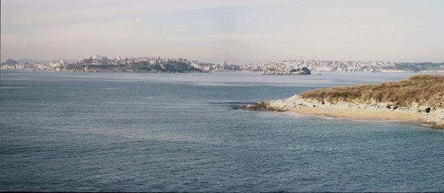 Santander desde Loredo