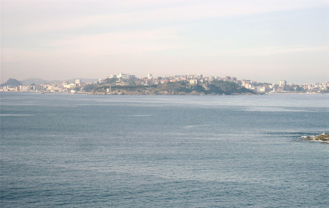 Península de la Magdalena desde Loredo