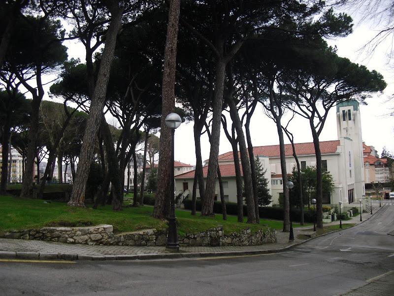 Iglesia de San Roque y Los Pinares en Santander