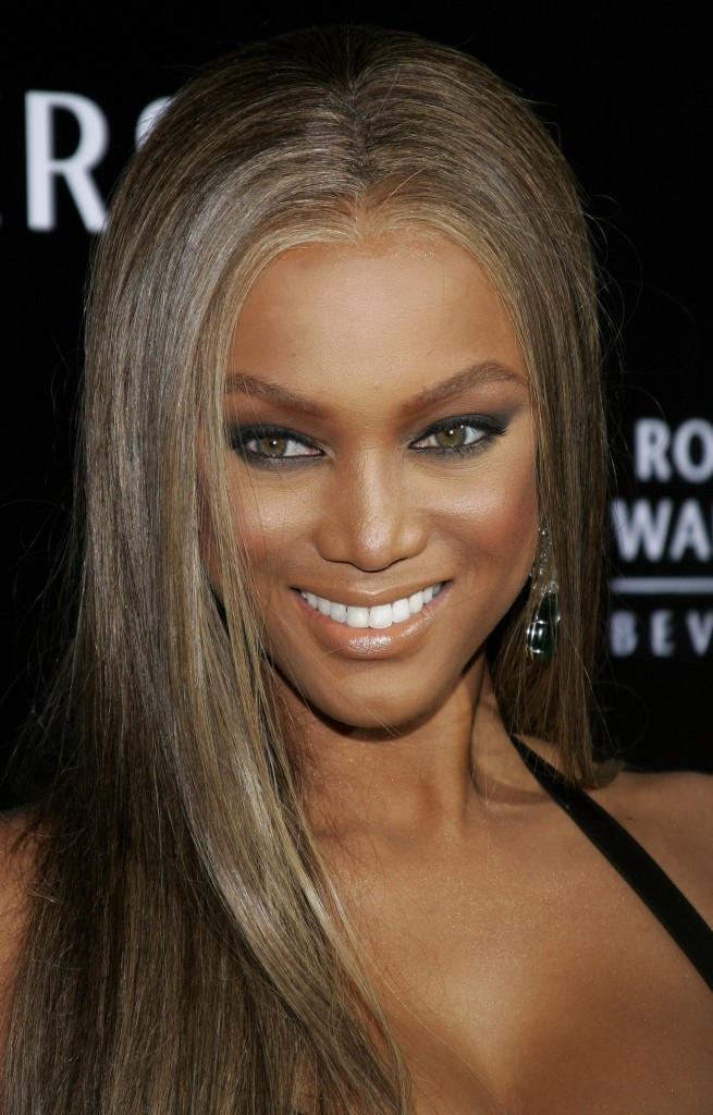 Tyra Banks Trendy Long African American Hairstyles for 2010