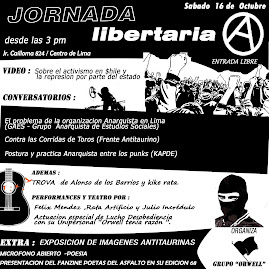 SABADO 16 DE OCTUBRE: JORNADAS ANTI-TAURINAS 2010