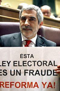 gaspar llamazares ley electoral