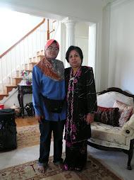 At Cik Siti's house