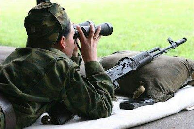 Girls in Russian army
