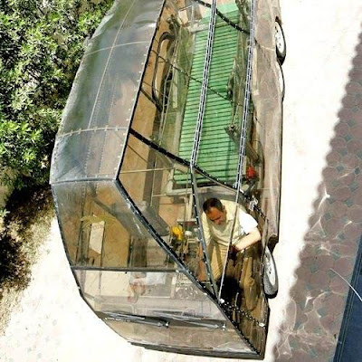 Naturmobil: Cart runs on 'horse power'
