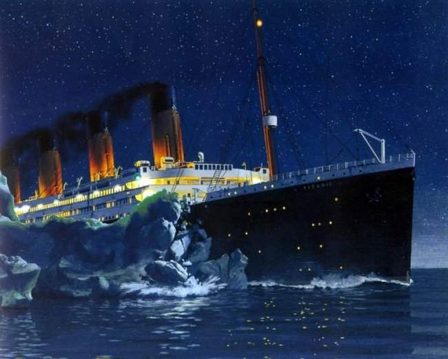 98 years ago to... Real Titanic Ship