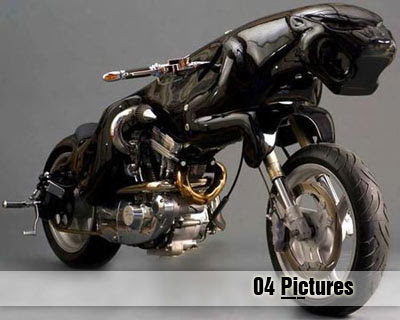 Strange Cat Motorcycle