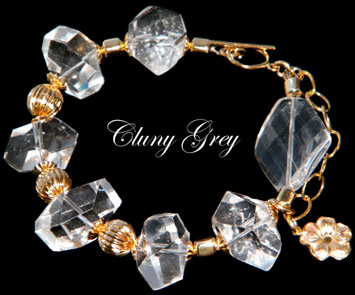 Jewelry Trend: Clear and Chunky