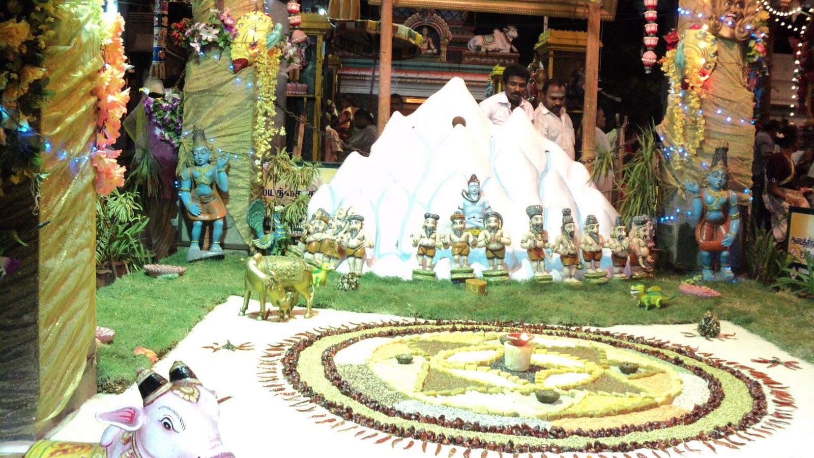 Golu Decoration Tips Lakshmi Temple Trails Tamil Nadu Golu At Mylai Karpagambal Temple